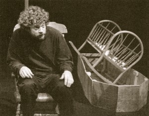 Jeff Culbert in One-Man Masque, Grand Theatre McManus Studio, London, Ontario, 2002