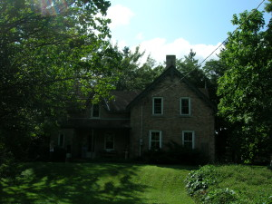 August 2010 -- James Reaney's birthplace and childhood home near Stratford, Ontario.