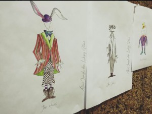 Alice Through the Looking-Glass costume designs by Bretta Gerecke, courtesy Royal Manitoba Theatre Centre.