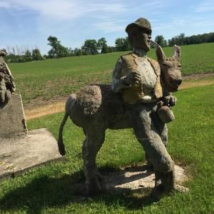 Goderich, Ontario -- Sculptures by George Laithwaite (1871-1956)