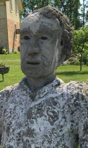 Goderich, Ontario -- Sir John A. Macdonald sculpture by George Laithwaite.