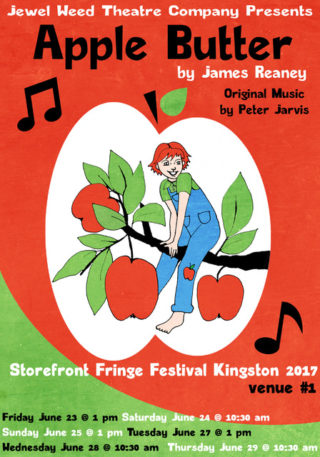 Apple Butter at the Kingston Fringe